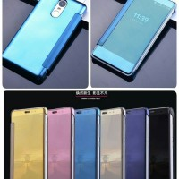 Jual Flipcase Mirror Xiaomi Redmi Note 3 Pro Hardcase Case Flip Cover Murah