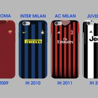 CUSTOM CASE AS ROMA INTER MILAN AC MILAN JUVENTUS IH 2009 - 2012