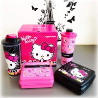 Tupperware Malaysia Hellokitty Lunch Set