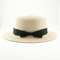Topi pantai - boater Thailand krem