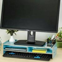 harga Desktop storage Meja laptop / rak komputer 48*20*11.5cm tebal 0.5mm Tokopedia.com