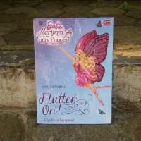 Buku Cerita Anak Dan Mewarnai Barbie Mariposa & Fairy Princess