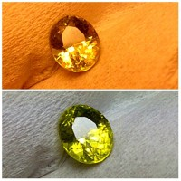 ALEXANDRITE Chrysoberyl COLOR CHANGE