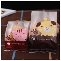 Plastik Kue Coklat hadiah Permen gambar kucing