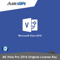 License Microsoft Visio Pro 2016 Key Activation Original 100%