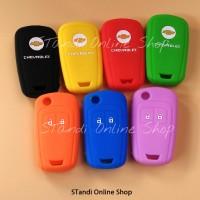 Silicone Remote Cover Kondom Kunci Chevrolet Spin Aveo Spark Orlando