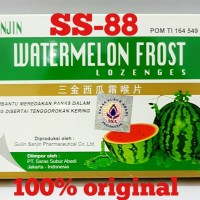 SANJIN WATERMELON FROST LOZENGES (Obat Sakit Tenggorokan)