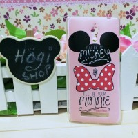Custom Case Oppo Find 7 Bahan Softcase Casing Mickey KD-126