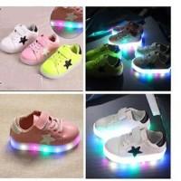 Jual SHOES STAR LED  (Sepatu keren dengan lampu LED warna warni) Murah
