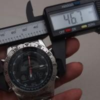 Jam Tangan Original Stauer Compendium Hybrid Watch