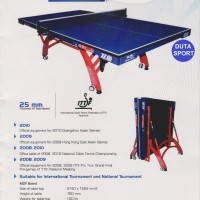 Meja Pingpong / Tenis Meja / Table Tennis Double Fish 328 A