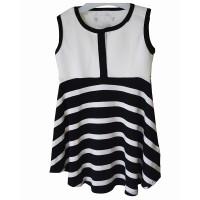 Jual dress anak black and white Murah