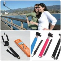 MURAH READY TONGSIS MONOPOD WARNA HITAM + HOLDER U ~ TONGKAT NARSIS