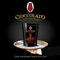 Hot Chocolate tulip Cioccolato Minuman Es Coklat Bubuk Powder 1kg