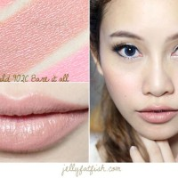 WET N WILD MEGALAST LIPSTICK BARE IT ALL/WET AND WILD/WNW LIPSTICK