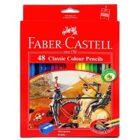 Pensil Warna Faber Castell classic 48