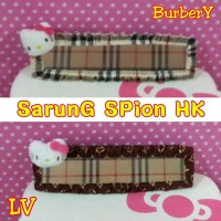 Cover Spion Tengah HELLO KITTY Burberry or Louis Vuitton Coklat