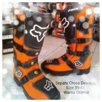 harga Sepatu Balap Motor Cross Fox Lokal Dewasa Tokopedia.com