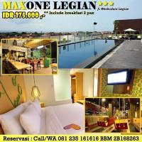 Voucher Hotel Maxone Legian Bali