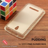 Oppo Find Clover R815 Soft Jelly Gel Silicon Silikon TPU Case Softcase