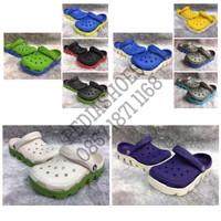 (GARANSI TERMURAH) Sandal Anak Crocs Duet Sport Junior Original