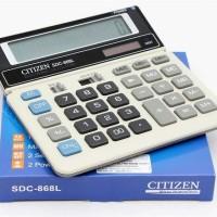 CALKULATOR CITIZEN SDC-868L/ KALKULATOR CITIZEN 868 L