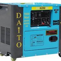 Genset Daito Solar 7000w (Button start)