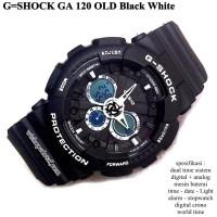 JAM TANGAN PRIA CASUAL CASIO G-SHOCK / GSHOCK GA 120 FULL black