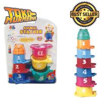 Mainan Edukasi Educational Animal Stacker Kids Toys
