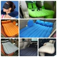 Jual Set Kasur Angin + Bantal + Pompa Angin Matras Tiup Tempat Tidur Mobil Murah