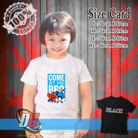 KAOS ANAK - Adventure Time Funny Come at me Bro quotes