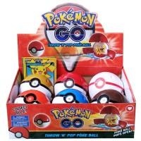 Jual Kado Mainan Anak Figur Pokemon THROW AND POP POKEBALL Murah