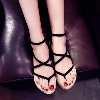 harga sandal flat tali gladiator import Tokopedia.com