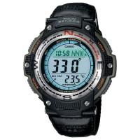 Casio SGW 100B-3V Digital Compass Thermometer - Hitam