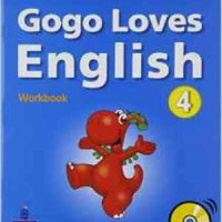 Gogo Loves English Lv 4 Workbook With Cd