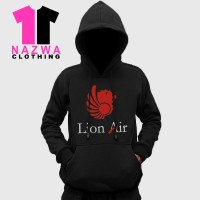 Jaket / Hoodie Logo Pesawat Lion Air - Nazwa Cloth