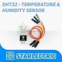 DHT22 Modul Sensor Suhu & Kelembapan + Kabel