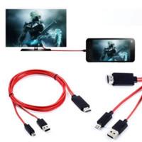 Micro USB to HDMI 1080P TV HD Samsung Galaxy Note 4/3/2 /S3/S5/S5