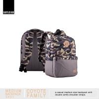COYOTE CAMO GREY Medium Backpack series tas ransel keren bagus murah