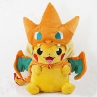 Boneka Pikachu Charizard Pikazard Smile 22cm Samyang Payung Batiste