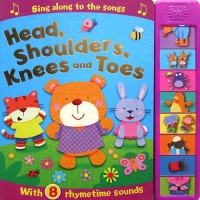Head, Shoulders, Knees and Toes Super Sound Book