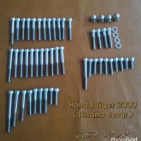 harga Baut L Stainless Set Mesin Honda Tiger 2000 ( Dinamo Besar ) Tokopedia.com