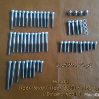 harga Baut L Stainless Set Mesin Honda Megapro Tiger Revo Tokopedia.com