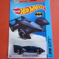 Hot Wheels BATMAN LIVE BATMOBILE Biru