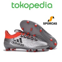 NEW !! Sepatu Bola adidas X 16.1 FG Core Black Red by Sporcas Store