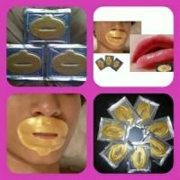 Lips Mask Golden Collagen Crystal - Masker Bibir