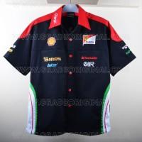 harga Kemeja Bordir Automotif F1 Ferrari Hitam Tokopedia.com