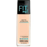 MAYBELLINE FIT ME ! MATTE+PORELESS FOUNDATION NATURAL BUFF