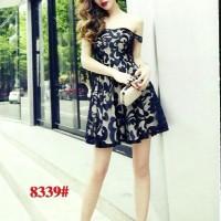 Baju Sabrina brukat brokat lace dress pesta import party dress wanita