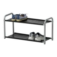 IKEA LUSTIFIK Hat / Shoe Rack, Rak Topi / Sepatu, Hitam Murah